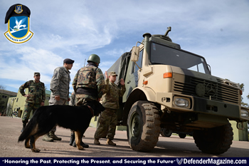 081516 Airman joins Soldiers to facilitate K-9 training in Uruguay 03_X350