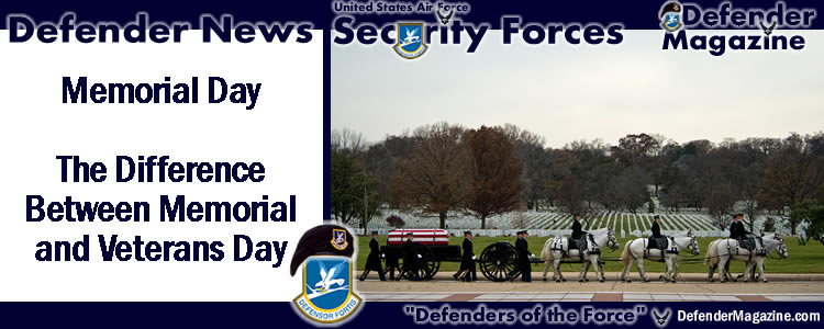 Memorial Day - The Difference Between Memorial and ...