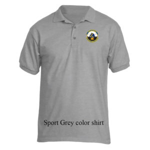 66th Security Forces Squadron Patch Jersey Polo Shirt