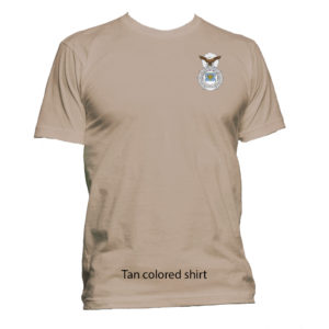 Security POLICE Badge T-Shirt