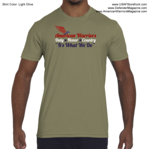American Warriors Duty Honor Country T-Shirt