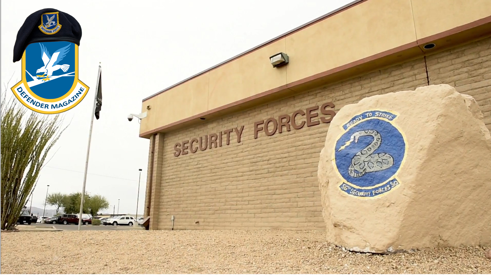"""Honoring our U.S. Air Force Security Forces """"Defenders"""""""