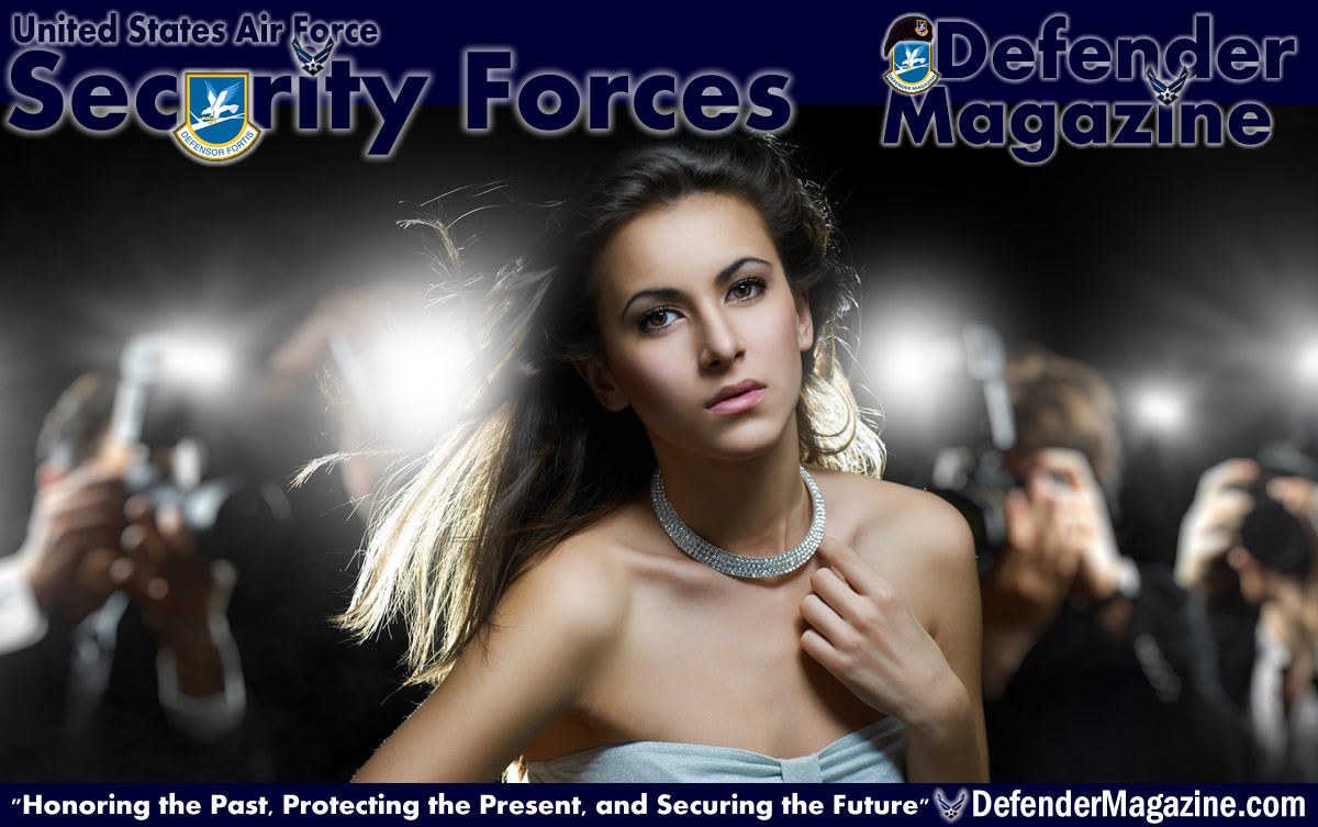 Celebrity Air Force Security Forces Defenders | USAF