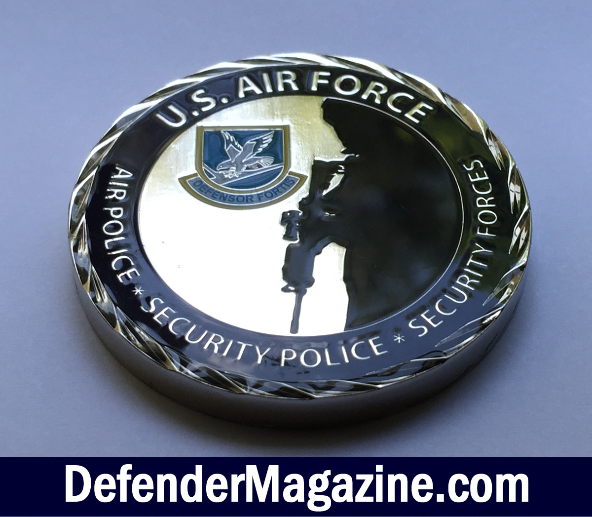 U S  Air Force Security Forces Challenge Coin – Defender