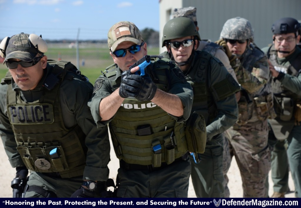 Joint Military And Civilian Law Enforcement Training In