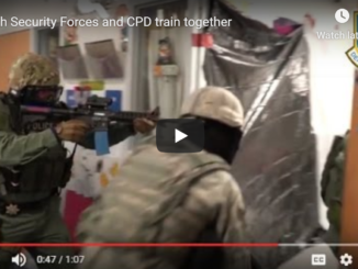 90th Security Forces and Cheyenne Police Department Active Shooter Training