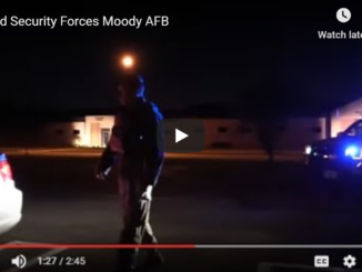 A Look at Air Force Security Forces with the 23rd SFS Moody AFB