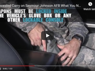 Concealed Carry of Seymour Johnson AFB what you need to know