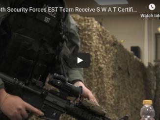366th Security Forces EST Team Receive S.W.A.T. Certification