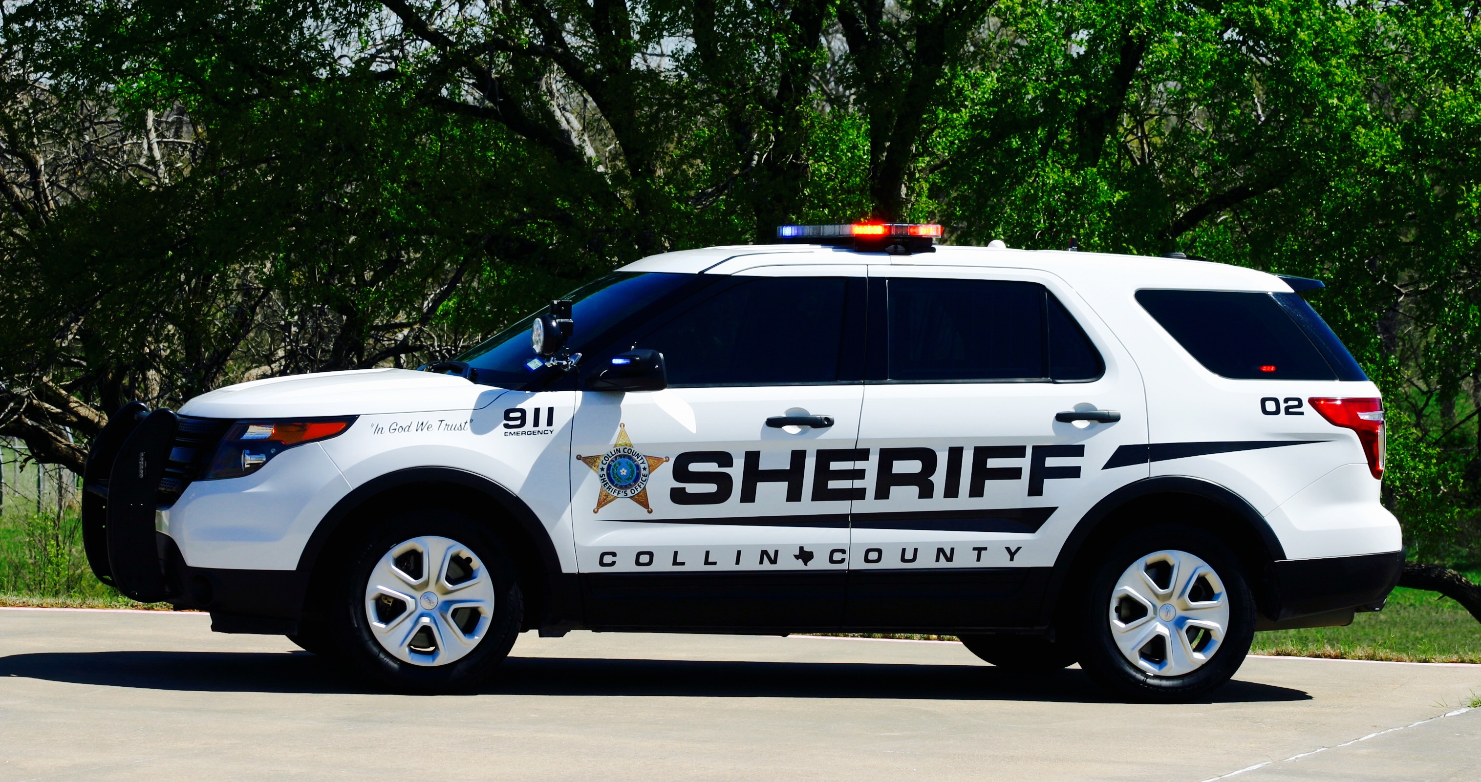 Collin County TX Sheriff car