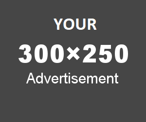 Your Advertisement 300x250