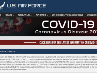 U.S. Air Force COID-19 Website